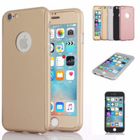 acrylic glass case - iPhone plus Full Hybrid Tempered Glass Acrylic Hard Case Cover For iPhone SE S Plus Samsung S7 S6 Note