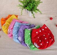 Wholesale 1 years infant diapers Cotton Lala pants Leak proof newborn diaper Size adjustable E532