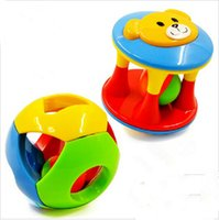 Wholesale Kid Gift Musical Instrument Rattle Shaker Bell Ring Ball Toy Baby Kids Education Hand Training Grasping Ability Toy