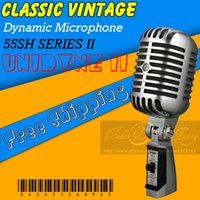Wholesale Professional SH II Classic Retro Wired Dynamic Microphone Mike For SH Series II Classical Vintage Style Mic
