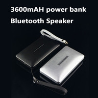 bank card usb - New mAH Power Bank Bluetooth Speakers with TF Card Flashlight FM USB in Wireless Bluetooth Outdoor Speakers Music Player Subwoofer