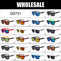 achat en gros de lunettes de soleil d'argent pour les hommes-WHOLESALE - en plein air Plage Sun rapide Mode Lunettes de soleil hommes lunettes couleur argent Ferris 22 en stock