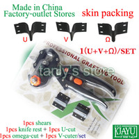 Wholesale U V Omega set set Skin packing Garden Tool Professional Fruit Vegetable Flower Grafting Pruner Good quality