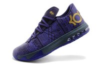 Cheap Kevin Durant KD 6 VI BHM Metallic Gold Purple Basketball Shoes Men Cheap Kds KD6 Black History Month Sneakers For Sale
