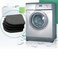 anti shock mat - High Washing shock pads Non slip mats Refrigerator Anti vibration pad set esponja pincel pumice man and women washing tools
