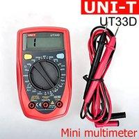 Wholesale Original UNIT UT33D Digital Multimeters Professional Electric LCD Digital Multimeter Electrical Power Tools