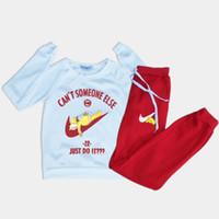 Wholesale 2016 New Winter Female Tracksuit Brand Design Women s Thickening Fleece Hoodies Pant Pieces A Set Just Do It Print Sport Suit