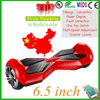 Wholesale hoverboard inch super power APP Bluetooth Balance Scooter Electric Skateboard with Bluetooth Hoverboard scooter
