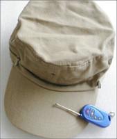 Wholesale New yellow Color Quality P HD Hat Cap Hidden Camera DVR Video Recorder With Remote Control Covert Hidden Camera Hat Cap