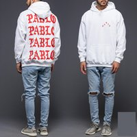 Wholesale 2016 Atumn Winter Mens I Feel Like Pablo Hoodies Warm Kanye West Season Hoody For Men Sweatshirts Hip Hop