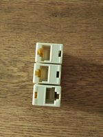 Wholesale RJ45 P8C Double Ports Female Plug Telephone Connector