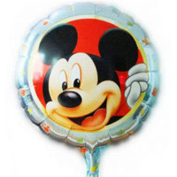 balloons and banners - New arrive Lovely Minnie and Mickey balloon Birthday party Printed cartoon balloons Hot party balloons and banners