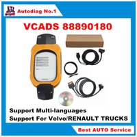automotive protection - VCADS Yellow Protection Truck Diagnostic Interface with V2 PTT for Volvo Renault Support Multi languages VolvoVCADS