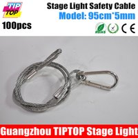 Wholesale Stage Light Safety Rope and Retail Good Price Stage Light Safety Cable mm x cm Led Stage Light Accessory