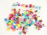 Precio de Los niños juegan-¡Las ventas calientes! La cesta de compras linda de 100piece / lot calcula la estación 1 2 3 4 5 de las compras de los juguetes Las muchachas mezcladas los cabritos del bebé fingen juega los juguetes de los juguetes de la compra