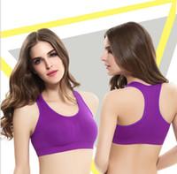 Wholesale Lady Seamless Bra Sports Bras Push Up Padded Running wear underwear Thin Yoga Bra Sport Bra in stock