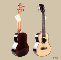 Wholesale 24 Inch Soprano Ukulele Guitar Musical Top Quality Rose Wood Spruce Full of Acacia Hawaii Fourth Ukulele String Guitar for Children