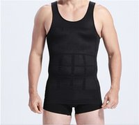 beer vests - Men Slim Fit Men s Slim Minus Beer Belly Shaping Underwear Abdomen Body Sculpting Vest Mens Body Shapers Vest Slimming Shirt for Men