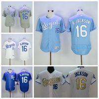 Men auburn blue - KC Royals Jerseys Bo Jackson Jersey Flexbase Kansas City Royals Baseball Turn Back Auburn Blue White Cooperstown