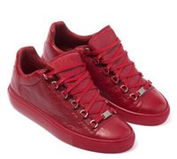 arena shipping - Arena Low Top MENS casual shoes famous B brand crack leather durability and fit outdoor shoes
