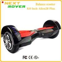 Wholesale 8 Inch two wheel smart balance scooter self Balancing hoverboard with bluetooth speaker electric skateboard