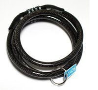 Wholesale Bike Locks Bicycle Lock Bike Cable With Chain Combination With Keys Security