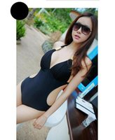 belly cover - 2016 Fashion Sexy Triangle One Pieces Bikinis And Show Thin Cover Belly Swimwear Bikini For Women