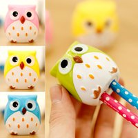Wholesale Ann Jiari South Korea stationery pencil sharpener adorable cute owl pencil sharpener pencil sharpener