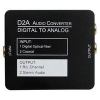 analog audio ports - Digital fiber coaxial to analog audio converter To Analog Converter Ditigal