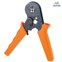 battery terminal types - HSC8 series Battery cable terminals red and blue or orange mini type self adjustable crimping plier mm2