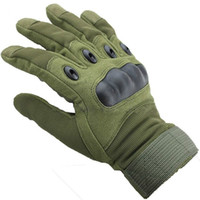 Wholesale Men Full Finger Outdoor Sports Gloves Anti skid Cycling Gloves Wearable Fitness Gloves Shooting Bicycle Motorcross CS Game