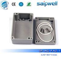 aluminum electronics enclosure - New Saip aluminium electronic enclosure ip65 aluminium enclosure SP AG FA2 mm with screws