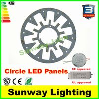 aluminum ceiling board - New LED Circle PANEL Light round circular Ceiling lamp SMD LED board Watt W W W w w AC85 V CE UL driver Magnetic