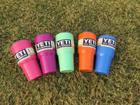 Wholesale Colored Yeti Cups Hot Sale Rambler Tumbler YETI Cups Cars Beer Mug Large Capacity Mug Tumblerful
