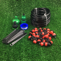 automatic irrigation - PVC Hose Hot Sale DIY Automatic Micro Drip Irrigation System Gardening Drip Irrigation Garden Watering Kit