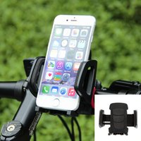 applied silicone - lijinyu Brand new hot selling universal automatic lock bicycle black phone holder ABS silicone gel apply to inch mobile phone