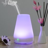 Wholesale Small Humidifier Mini Aromatherapy Diffuser with Colors LED Light Waterless Auto Shut Off for Home Office Bedroom