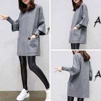 Wholesale 2016 new women s loose in the long long sleeved sweater