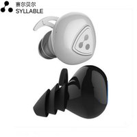 active earbuds - 100 Real Syllable D900S Wireless Bluetooth4 Heaphones In ear Mini Headsets Stereo Sports Active Noise Cancelling Earbuds Waterproof IPX4