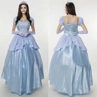 Wholesale Noble European palace sissy dress costumes queen dress Halloween snow white play princess costumes for adults cosplay women