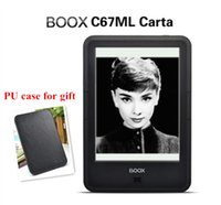 Wholesale ONYX BOOX C67ML carta e book PU cover touch screen Android G Wi Fi E ink Front Glowlight ebook Reader Hot sale
