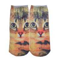 Wholesale Free DHL The explosion of foreign trade socks socks printing D animal cartoon character pairs