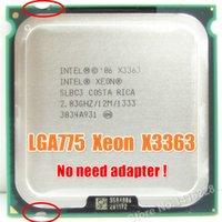 Wholesale Funciona em Processador LGA mainboard sem necessidade de adaptador Xeon X3363 GHz M MHz perto LGA775 Core Quad Q9500 CP