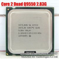 amd fsb - Original Q9550 CORE QUAD Q9550 Processor GHz MB L2 Cache FSB Desktop LGA CPU