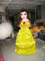 Wholesale Princess Beauty Mascot Costume Adult Professional Fancy Dress Cartoon Party Outfits