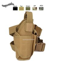 art holster - Outdoor Sports Assault Combat Military Camouflage Molle Pack Nylon Fabric Quick Release Tactical leg Holster SO11