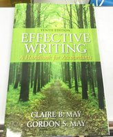 Wholesale Effective Writing A Handbook for Accountants th Edition th Edition by Claire B May Author Gordon S May Author