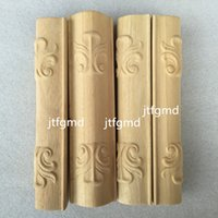 bathroom cabinet accessories - Special offer of Dongyang woodcarving carved wood furniture foot European bathroom cabinet cabinet TV cabinet accessories side column