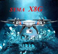 Wholesale SYMA X8G RC Drone with Aixs of Gyro GHz Drones Quadcopter Aerial Aircraft with MP Camera HD Model RC Toys