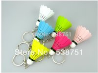 badminton gift items - by FEDEX new items badminton keychain for sports lovers Good gift multicolor